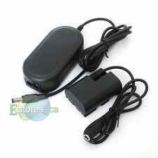 ACK-E6 AC Power Adapter + DC Coupler For CANON EOS 7D 60D 5D Mark II III 5DIII