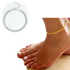 Bracelet Gold Silver Coin Foot Jewelry Barefoot Sandal Beach Ankle Chain Women