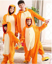 Hot Pokemon Unisex Adult/Kid Animal Onesie Kigurumi Cosplay Pajamas Charmander1