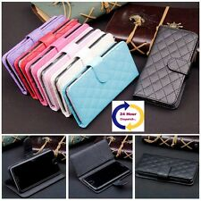 New Flip Wallet Card Stand Sheepskin Leather Case Cover For Samsung GalaxyS4,5,6