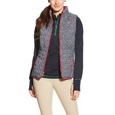 Ariat Ashley Quilted Riding Vest - Ladies - Red, Green or Navy - Diff Sizes