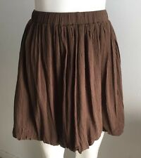 NEW Ladies Girls Short Brown Bubble Skirt - Ajoy Brand Size 10