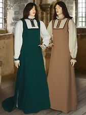 Medieval Clothing Women's Renaissance Handmade Dress Costume Gown Cotton Pirate