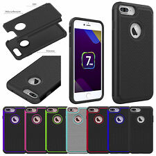 Hybrid Shockproof Heavy Duty PC + TPU Armor Case Cover For Apple iPhone 7/7 Plus