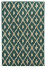Afreso 6505 Turquoise FOUR SIZES Modern Indoor/Outdoor Floor Rug FREE DELIVERY