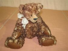 """Artist Made 18"""" Mohair Bear Glass Eyes and Fully Jointed"""