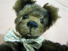 """Artist Made Hand Crafted Mohair Bear with Glass Eyes and Fully Jointed 8"""""""
