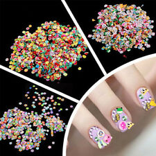1000x3D DIY Nail Art Tip Fimo Decoration Flower Fruit Animal Slice Clay Sticker