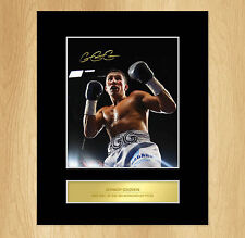 Gennady Golovkin GGG Signed Mounted Photo Display