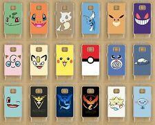 Samsung Galaxy S2, S3, S4, S5, Mini, Neo Pokemon Go Clear Phone Case