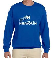 Kenworth W900 Semi Truck Classic Outline Design Sweatshirt NEW
