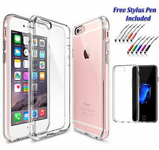 Soft Slim Thin Clear Gel Silicone Back Case Cover For Apple iPhone 7 PLUS Uk