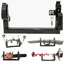 3-in-1 ATV Mount Holder for Compound Bow, Gun, Ice Auger, Chainsaw, Tools & More