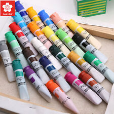 Sakura Tubes Draw Painting Watercolor Artists Drawing Translucent Paint