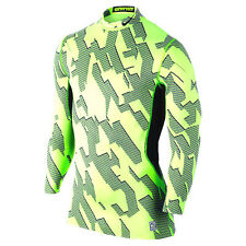 $75 NEW Mens Nike Pro Combat Hyperwarm Compression Base Layer Shirt  XL