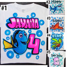 Airbrushed Personalized Finding Nemo Dory T-shirt Bodysuit Hoodie Pillowcase
