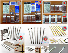 7kinds Leather Craft Multifunctional Sewing Pointed Round Head Flat Needle Tool