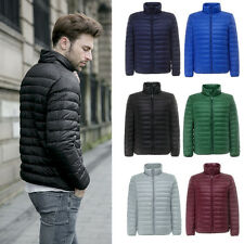 2016 Hot ! Mens Fashion Down Jacket Puffer Coat Ultralight Portable Parka XS~2XL