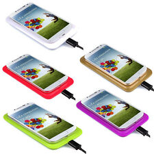 Qi Wireless Fast Charger Charging Pad+Receiver Kit For Samsung Galaxy S4 i9500
