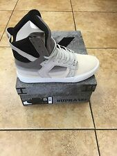 SUPRA SKYTOP II TRANSITION DECADE X GREY ICE SKATE SHOES (08006-959-M Chad Muska