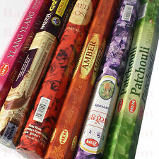 20 x HEM Indian Incense Joss Sticks Many Fragrances Long Burn Aroma Insence