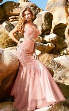 Goddess Strapless Gown by MNM Couture 5231. Womens dress evening gown jeweled