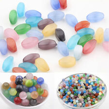Wholesale 20/50/100Pcs Mixed Cat Eye Gemstone Round Loose Beads 4MM 6MM 8MM 10MM