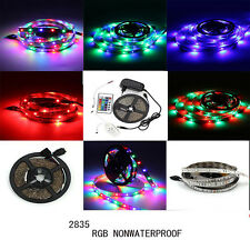 5m 2835/5050 SMD 300 LED Nonwaterproof  Flexible Strip  Light (Remote+Power)