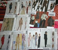 CHOOSE ONE Miss PATTERN sz 4 6 8 10 12 Jacket Skirt Pants Vogue Easy McClintoc