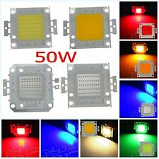 High Quality 50W SMD Bright Cold White/RGB LED Lamp Bead Chip For Flood Light