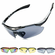 Bicycle Cycling Bike Sports Sunglasses UV400 3 Lens Goggles Protectivce Glasses