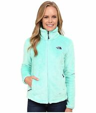 New The North Face Women's Osito 2 Jacket Silken Fleece Zip Up Surf Green Sz XL