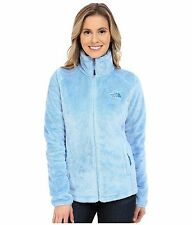 New The North Face Womens Osito 2 Jacket Silken Fleece Zip Up Powder Blue Sz 2XL