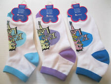 """NEW WOMENS BETTY BOOP """"KISS FOR LUCK"""" ANKLET SOCKS SIZE 9-11 YOU CHOOSE COLOR"""