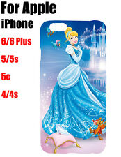 Disney Princess Cinderella Poster Pattern Hard Case Cover For Apple iPhone iPod