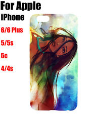 Disney Princess Pocahontas Stained Pattern Case Cover For iPhone Samsung Galaxy