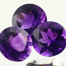 Purple Natural Amethyst AAA Quality 2.5 mm Round 20 pcs Loose gemstone