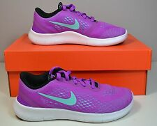 NWT GIRLS KIDS NIKE FREE RN PS HYPER VIOLET RUNNING SNEAKERS SHOES SZ 10C-6Y