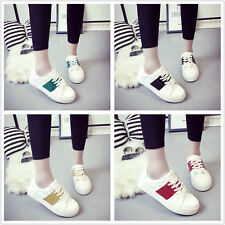 Free Women Mixed colors Shallow mouth Low Top Flat Platforms Casual Single Shoes