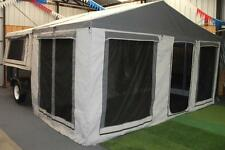 New Light Off Road Camper Trailer with Family Tent and Enclosed Annexe by Dingo