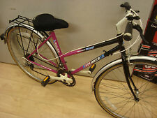 Ladies Falcon Explorer 12 hybrid retro town bike steel frame