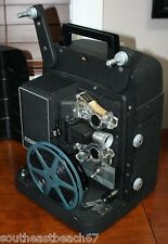 Bell & Howell Model 256 8mm Movie Film Projector Vintage With Working Bulb