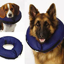 Inflatable Collar Dog Soft E-Collar Pet Wound Healing Protection Cone L