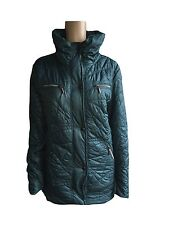 Women'S Winter Quilted jacket Parka Coat Petrol Quilted Jacket Size S - XL NEW
