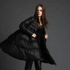 Vogu Women's Winter Duck Down Jacket Thick Warm Parka Coat Puffer Style Poncho