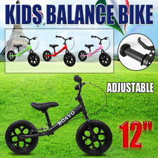 "2016 New 12"" Kids Balance Bike Child Push No Pedal Scooter Training Bicycle OZ"