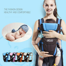 Baby Carrier Adjustable 4 Positions Infant Newborn Kid Wrap Sling Backpack Pouch