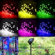 200LED Solar Power String strip Lights Outdoor For Xmas Party Garden Fairy Lamp