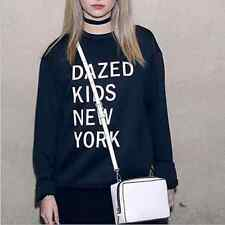 Women long-sleeved Dazed Kids New York T-shirt Sweatshirts New Printed Letters