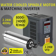 2.2KW WATER COOLED SPINDLE MOTOR 2.2KW VFD VARIABLE DRIVE MILLING WHOLESALE